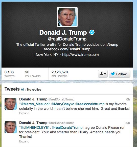 TrumpTwitter